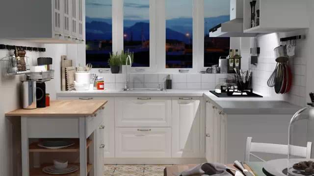 整体橱柜温馨舒适小厨房 小户型有大梦想