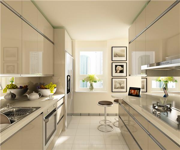 我乐欧洲设计师名作丝丽卡,重塑简洁科技感厨房概念