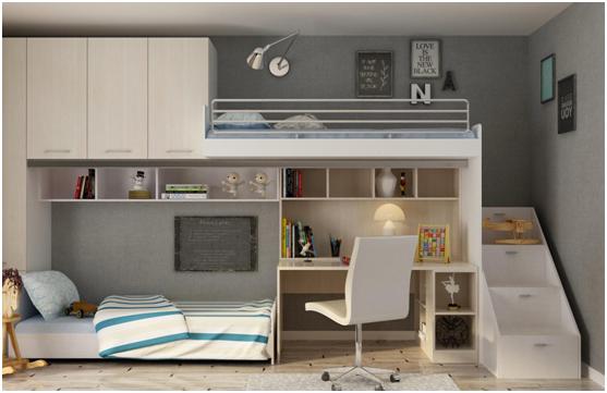 经典的儿童房设计方案 我乐为万千家庭量身定制