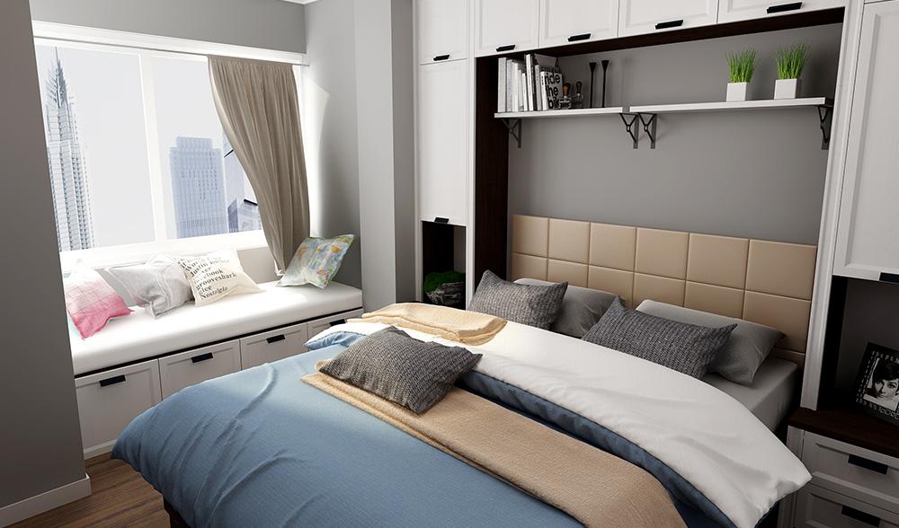扎心了,你的卧室有我乐橱柜效果图漂亮吗?