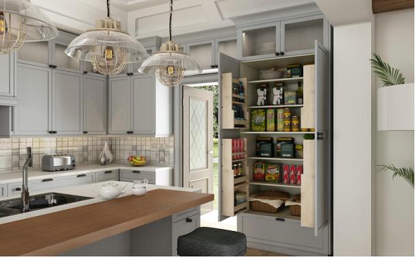 我乐橱柜怎么样?看看人家的厨房厨柜设计吧